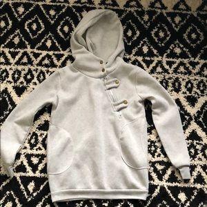 Tops - Gray hoodie